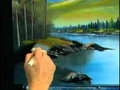"Bob Ross and ""The Joy of Painting:""  Follow the lay of the land (from DVD #D1214D)"