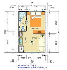 Resultado de imagen para converting a one car garage into studio apartment
