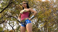 Hannah Perez as Wonderful Girl. Available now at [link] Costume designed by ZigorC - [link] Wonderful Girl 1 Joy Costume, Link Costume, Costumes, Wonder Woman Cosplay, Cosplay Girls, Costume Design, Deviantart, Actresses, Stars