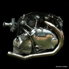 No 4: CLASSIC VINCENT MOTORCYCLE ENGINE by Gordon Calder, via Flickr