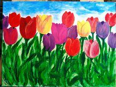 Tulips Tulips, Flowers, Painting, Art, Art Background, Painting Art, Kunst, Paintings, Performing Arts
