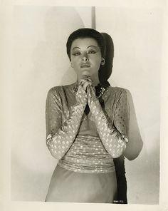 Myrna Loy from Thirteen Women. (1932)