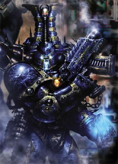 Thousand Sons Space Marine after the Rubric of Ahriman