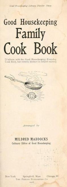 Cookbook and Home Economics Retro Recipes, Old Recipes, Cookbook Recipes, Vintage Recipes, Cooking Recipes, Recipies, Cookbook Ideas, Amish Recipes, Plenty Cookbook