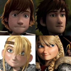 younger and 5 years older Hiccup and Astrid<<< i was wondering how long it had been