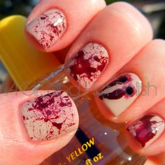 A Girl and Her Polish: True Blood Nails