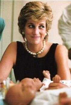 Princess Diana at Tushinskaya Children's Hospital