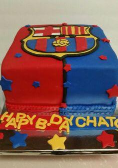 Cake Design Barcelona : Tort FC Barcelona Leo Messi cake Cakes for children ...