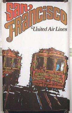 San Francisco. United Air Lines.