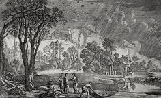 Phillip Medhurst presents Bowyer Bible print 3677 The parable of the pearl of great price Matthew 13:45-46 Perelle on Flickr. A print from the Bowyer Bible, a grangerised copy of Macklin's Bible in Bolton Museum and Archives, England.