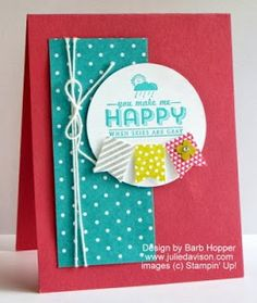 Julie's Stamping Spot -- Stampin' Up! Project Ideas Posted Daily: Sneak Peek: Occasions & Sale-a-bration Shoebox Swaps