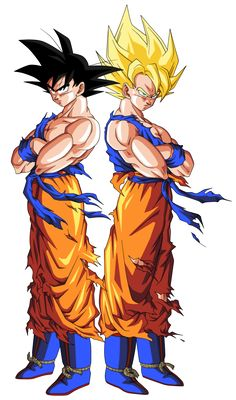 GOKU NORMAL Y SUPER GUERRERO by BardockSonic on deviantART
