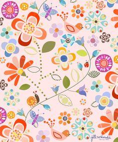 Floral Art by Jill McDonald Design