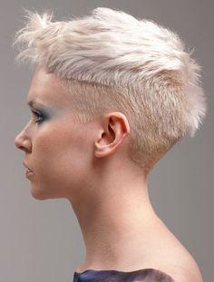 ... Cut on Pinterest   Undercut, Short hairstyles and Super Short Hair