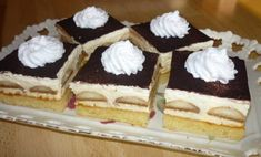 Šeherezádin sen. - Báječné recepty Czech Recipes, Ethnic Recipes, Desert Recipes, Carrot Cake, Nutella, Baked Goods, Tiramisu, Deserts, Food And Drink