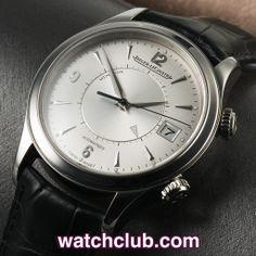 Jaeger-leCoultre Memovox 40mm - 'Mechanical Alarm' REF: 1418430 | Year 2011 - One of Jaeger LeCoultre's most famous creations, this 40mm stainless steel Master Memovox is in superb condition! Originally launched in 1956, this current model ref.1418430 retains all of the charm of the original. - for sale at Watch Club, 28 Old Bond Street, Mayfair, London