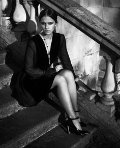 Emma Watson photographed by Vincent Peters for Vogue Italia - November 2015