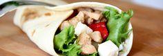 Teriyaki-tortillat Fresh Rolls, Tacos, Mexican, Ethnic Recipes, Food, Meals, Yemek, Eten