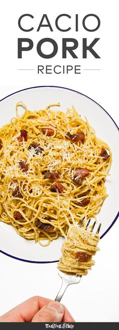 Katie Parla, co-author of the new book Tasting Rome, creates an easy spaghetti with guanciale and cheese dish you can whip up in less than 30 minutes.