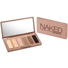 Urban Decay Naked Basics Eyeshadow Palette (92 BRL) ❤ liked on Polyvore featuring beauty products, makeup, beauty, nude, urban decay, no color, urban decay makeup, urban decay cosmetics, highlight makeup and palette makeup