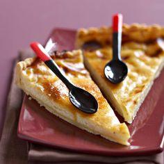Découvrez la recette Flan à la vanille sur cuisineactuelle.fr.