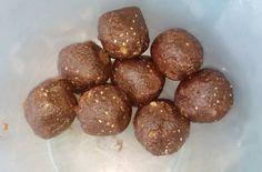 Kakaós datolya-mandula golyók -nyers,vegán Ethnic Recipes, Food, Essen, Meals, Yemek, Eten