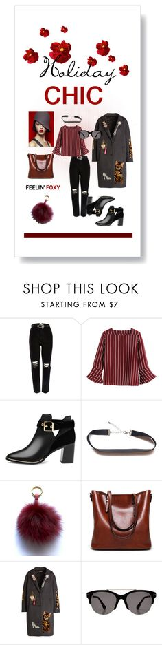 HOLIDAY CHIC by a-le-mode on Polyvore featuring Dolce&Gabbana, River Island, Ted Baker and Tom Ford