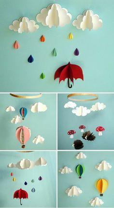 rainy day decorations