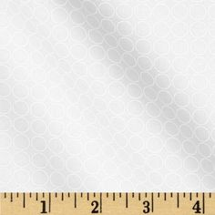 Spot On Circle In A Line Snow from @fabricdotcom  Designed by RK Studio for Kaufman Fabrics, this tonal cotton print fabric is perfect for quilting, apparel and home decor accents.