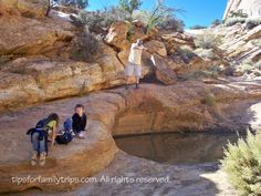 Top 10 family hiking trails in Utah national parks... great website full of adventures with kids.