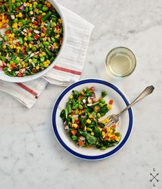 Calabasitas With Summer Corn, Zucchini, Green Chiles And Lime Recipes ...