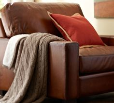 Win the Ultimate Father's Day Gift: Our Turner Leather Armchair!