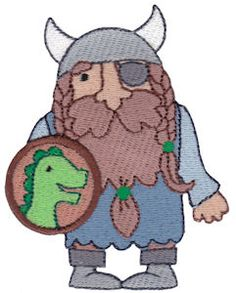 Embroidery | Free Machine Embroidery Designs | Bunnycup Embroidery | Vikings