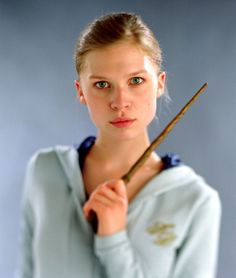 """Clemence Posey as Fleur Delacour from """"Harry Potter & the Goblet of Fire"""" Harry Potter Disney, Harry Potter Magic, Harry Potter Cast, Harry Potter Characters, Harry Potter World, Harry Potter Fleur Delacour, Clemence Poesie, Goblet Of Fire, Children Images"""