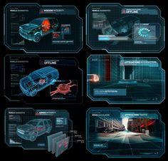 Interface Design for Nick Fury's Windshield / Captain America The Winter Solider  / See Full Case Study: http://perceptionnyc.com/content/captain-america-winter-soldier   /More of Perception's Work:  www.perceptionnyc.com