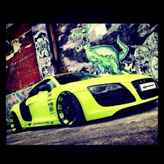 Modified Neon Audi R8