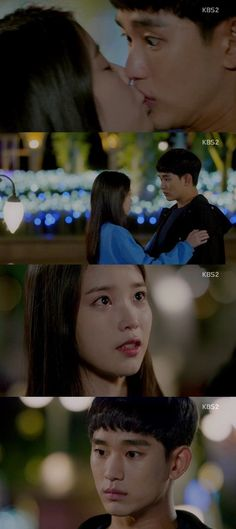 [Spoiler] 'Producers' 'IU', Kim Soo-hyeon-I and a surprise kiss @ HanCinema :: The Korean Movie and Drama Database Cha Tae Hyun, Surprise Kiss, Pretending To Be Happy, Gong Hyo Jin, Kissing Scenes, Pretty Men, Drama Movies, Her Music, You're Awesome