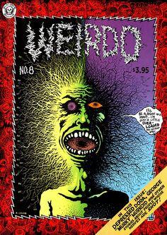 Weirdo 8 by #Robert_Crumb #underground_comics
