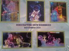 Ice Sculpture Show Roermond, Netherlands