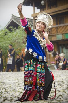A Miao Dancer - China - by William Yu on 500px