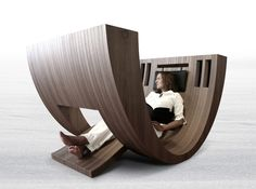 This cool lounging contraption.