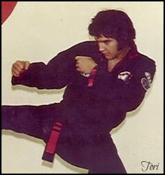 Elvis - Kenpo Karate - now that's some sexy shit right there. Elvis being bad ass. ❤️