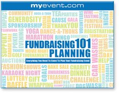 Personal Fundraising through My Event.