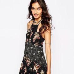 Love this floral print summer dress #asos #cute #covetme