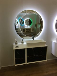 Bathroom Decorating – Home Decorating Ideas Kitchen and room Designs Home, Urban Decor, Entryway Mirror, Mirror Design Wall, Round Mirror Bathroom, Mirror House, Backlit Mirror, Bathroom Mirror Design, Mirror Wall