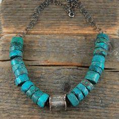 MZ STUDIO - turquoise necklace