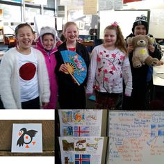 Our Iceland Exhibit is up with some beautiful pictures of kids' art creations & Mrs. Joyce's 3/4J class celebrating Joy Sun Bear Day in school!!  :)  #globaled #connectingclassrooms #iceland #joysunbearday #kids #children #art #passports #travel #familytravel #fun #school #adventure #country #culture #world #multicultural #mkbkids #mkbglobaled #diversity #inspire #kidscrafts #recipes #icleandic #swaziland #japan #iran #china #indonesia #exhibit