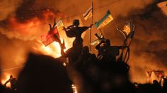 In Pictures: Riot police clash with protesters in Ukraine   CTV News