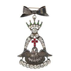 Paste design for Rose Croix The Saleroom, Decorative Bells, Past, Auction, Clock, Brooch, Jewels, Jewellery, Design