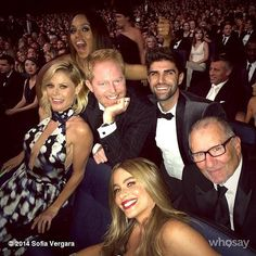 The Sweetest and Silliest Celebrity Candids From 2014Kerry Washington photobombed the cast of Modern Family's photo.